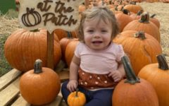 This sweet baby came with her family to have her first photoshoot at the pumpkin patch.