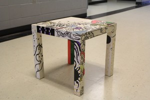 Creative Collage Coffee Table