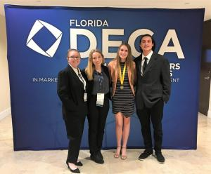 Participants from left: Emily Taylor, Emily Grossenbaugh, Laura Darty, Andrew Alonso(All Juniors)